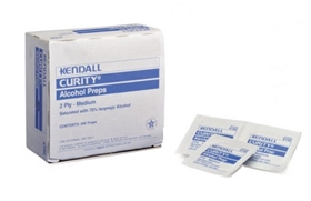 Kendall Curity Alcohol Prep Pads Medium- Item #5750, Item ...