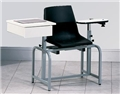 Blood Draw Chair w/Flip Arm and Drawer CH66029P