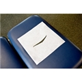 Headrest Pre-Cut Sheets Crepe White - item #HEG900, item #HEG901