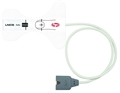 Physio Control Lifepak 12/15/20 Masimo Set LNCS Disposable Adult SpO2 Sensor-Item #11171-000019, Item #SE11171000019