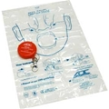 ADC Adsafe™ CPR Key Chain Face Shield (Orange) – item #4055OR, item #MA4055OR