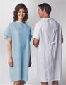 Medline Traditional Patient Gowns- Item #MDTPG2RSBSTAZ, Item #GOMDTPG2RSBSTAZ