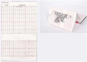 Ge Corometrics Oem Equivalent 170 120 Series Z Fold Red Grid Fetal Chart Paper Item 2009828cao Pm2009828cao V