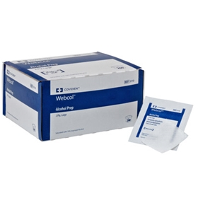 Medtronic/Covidien Webcol™ Large, 2 Ply Alcohol Prep Pads – item
