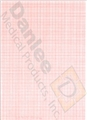 Schiller F-Fold Red Grid/Black Trace Chart Paper (210mm x 140mm) - Item #8843662, Item #PSS2157012A