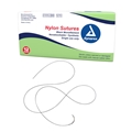 Synthetic Nylon Surgical Suture (Non Absorbable) Black, 4-0, PC31 Ne - item #9100, item #SU9100