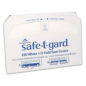 Toilet Seat Cover Safe T Gard Half Fold 14 1 2 X 17 Inch Item 47046 Item