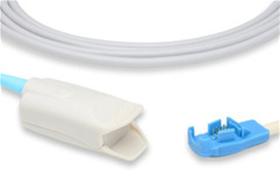 Datex-Ohmeda® OxyTip+® OXY-F-UN Compatible SpO2 Sensor Item #S403-1270,  Item #SES4031270