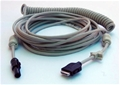 GE Medical Coiled ECG Cable for Mac 5000ST and CAM14 – item #2016560-003, item #CA2016560003