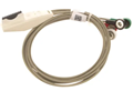 Mortara Patient Cable, 4 Wire, AHA Snap HC #9293-034-50