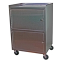 Ideal Stainless Dual Cabinet Cart – item #KC321, item #CAKC321