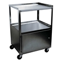 Ideal Stainless Cabinet Cart – item #MCC321, item #CABMCC321