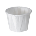 Medline 1 Oz. White Souffle Paper Cup- Item #100-2050, Item #CU1002050