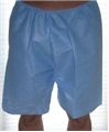 Disposable Exam Shorts, Made in USA! - HBOXERADULT