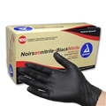 Black Nitrile Gloves, Powder Free, Large - item# 2523, item# GL2523