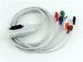 Northeast Monitoring 7 Lead DR180+ Holter Cable, Snap Ends - item #NEMCA131, item #LENEMCA131