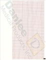 "Burdick 7983 Standard Red Grid Chart Paper (216mm x 280mm, 8.5"" x 11"") – item #7336915, item #PBS7983"