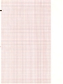 Mortara Compatible #9100-026-50 Red Grid Chart Paper