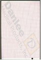 Welch Allyn® Compatible Red Grid Chart Paper #94008-0000