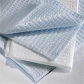 Graham Medical 2-Ply Disposable Professional Towel, Blue - item #184, item #TOG184