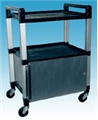 Ideal EKG Poly Cabinet Cart – item #UC320K, item #CAUC320K-G (gray), item #CAUC320K-W (white)