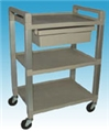 Ideal EKG Poly Drawer Cart – item #UC320D, item #CAUC320D-G (gray), item #CAUC320D-W (white)