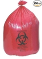 "Biohazard Bag, 15 Gallon (24"" x 33"", 1.2 mil Thickness) - item #NON122433, item #BANON122433"
