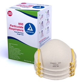 N95 Particulate Respirator Mask #2295, #2296