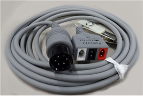 ConMed 3 Lead FSR Series Cable, Philips IE33, Acuson 300 - Item# FSR1370, Item# CAFSR1370