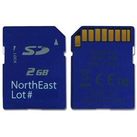 Northeast Monitoring DR200 2GB Flash Memory Card #DR200SD