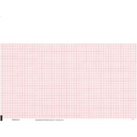 "Burdick Mortara Standard Red Grid Chart Paper (216mm x 280mm, 8.5"" x 11"") – item #007983, item #PB007983"