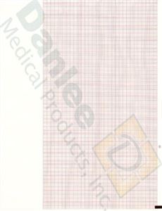 Burdick #7983 Compatible Standard Red Grid Chart Paper