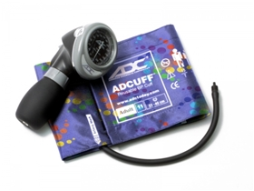 Diagnostix Adult Palm Aneroid Sphyg Peter's Blue Swirly - item# 703-11APBS, item# SP70311APBS
