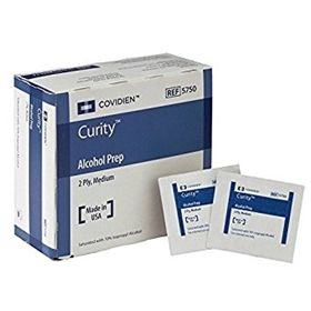 Medtronic Covidien Curity™ Alcohol Prep Pads #5750