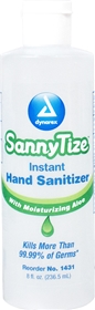 SannyTize™ Instant Hand Sanitizer, 8oz #1431 - item #HA1431