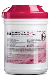 Sani-Cloth® Plus Germicidal Cloth, Large #Q89072