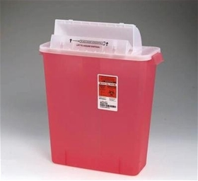 Covidien Extra Large Sharps Needle Container, 3 Gallons - item# 8537SA, item# SH8537SA