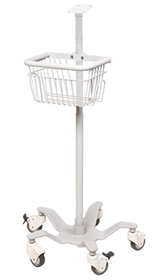 ADview Mobile Stand with Basket – Item #9005M, Item #ST9005M