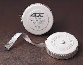 "Tape Measure 60"" Push Button - item #396, item #TA396"