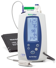 Welch Allyn Spot Vital Signs®  Device - item #4200B-E1, item #VI4200B-E1